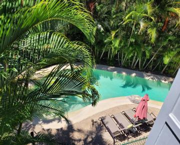View over Lagoon Pool 4