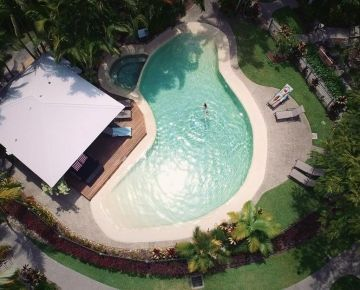 Aerial view of pool 3