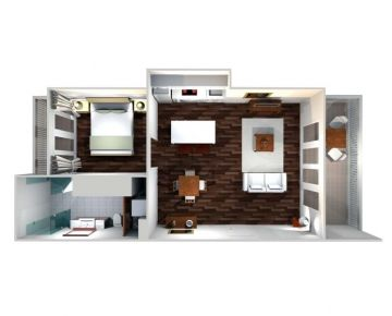 1 Bedroom Standard Apartment